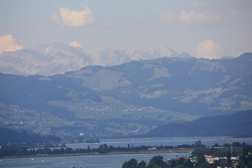 Swiss Alps from the Balcony