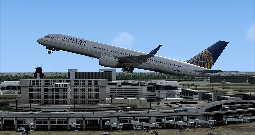 United Flight with FSx