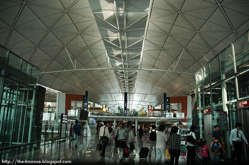 Hong Kong International Airport - Concourse