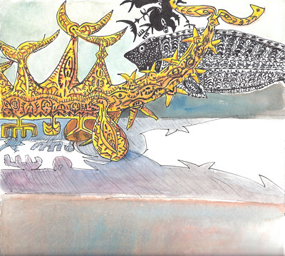Exposition Dennis Nona by alain bertin