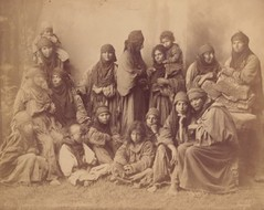 Group of Bedouin Women -- University of Pennsylvania Museum Image #165843