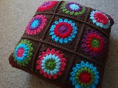 Ravelry: Starburst Flower Crochet Blanket pattern by Jane ...