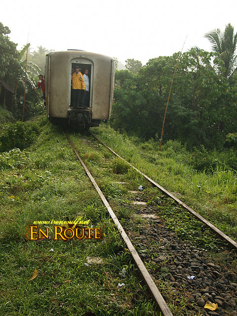 The PNR Bicol Commuter Train comes to the rescue