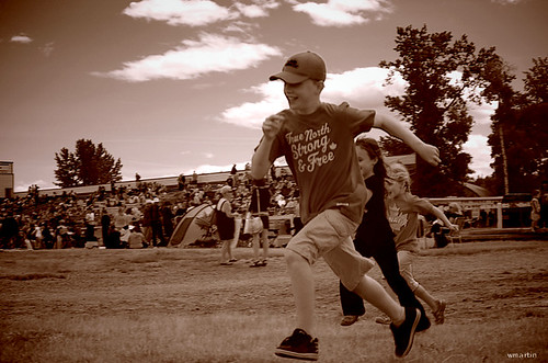 Millarville Canada Day Races 2011 - true north strong by Wanderfull1