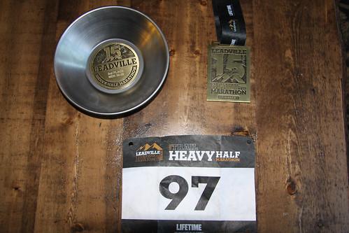 Leadville Heavy Half Marathon 2011