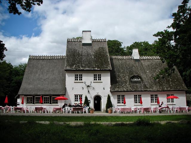 Старый ресторан в парке - Клампенборг