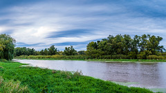 Goose Island Landscape Panoramic (1 of 2) (brian_barney9021) Tags: panoramic river trees landscape nature sky clouds nikon d3200 35mm 16x9