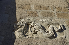 Neuvy-Saint-Sépulchre (Indre) (sybarite48) Tags: neuvysaintsépulchre indre france collégialesaintetienne sculpture skulptur فن النحت 雕塑 escultura γλυπτική scultura 彫刻 sculptuur rzeźba скульптура heykel