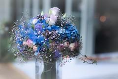 AAF_7866 (De Hollena) Tags: blauw bleu blue blumen blumenstrauss brautstraus bruidsboeket flower hochzeitsstrauss bouquetdemarie bridalbouquet fleur ramodenovia
