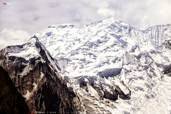 Bawalter Peak - Hoper Glacier start from this Peak (AQAS) Tags: hunza gilgit kkh mountains clouds light landscape history nature colors hill river mountainside indus peak hunzapeak bawalterpeak hopergalcier nagar