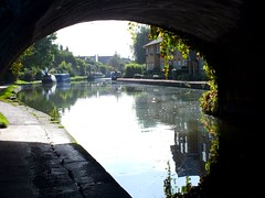Berkhamsted (ENRYCH BUCKS A local charity bringing life, leisur) Tags: berkhamsted enrych photograghy fuji canal boat locks autumn fall harts