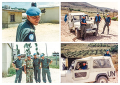 Friends of Naqura I (Normann Photography) Tags: 1992 fntjeneste forsvaret kontigent29 lebanon libanon mp militarypolice naqura peacecorps unservice unifil unitednations unitednationsinterimforceinlebanon friends market peacekeepers naqoura southgovernorate lb collage