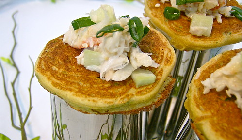 Savory Pancakes for Canapes