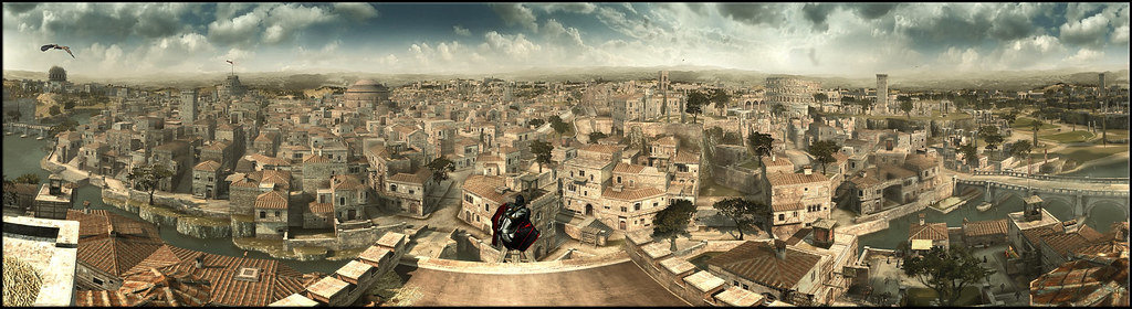 Ezio Vs. Tiber Island #2