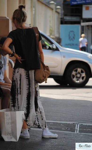 skirt and chucks