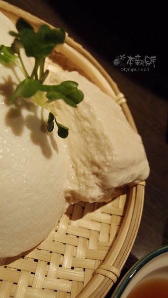 竹籃冷豆腐之生湯葉