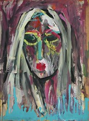 19 óleo sobre lienzo       104 x77cm 2003 (arteneoexpresionista) Tags: rando jorge figuras pinturas neoexpresionismo