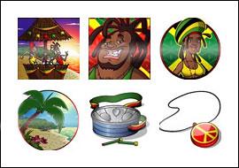 free Ja Man slot game symbols