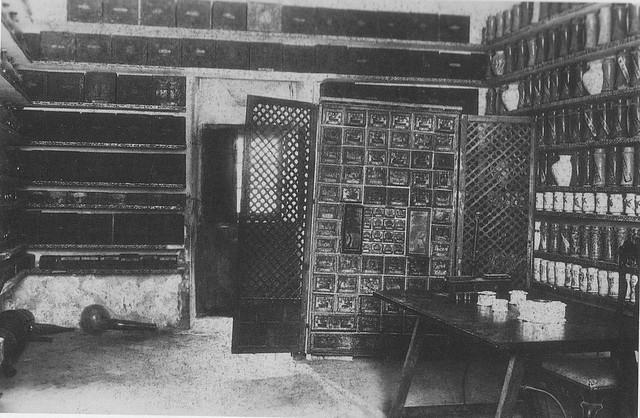 Botica del Hospital Tavera a principios del siglo XX