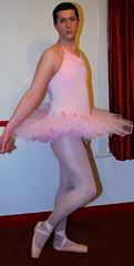 Chris Millett - Ballerina en Pointe (Chris_Millett12) Tags: pink chris ballet ballerina shoes tights pointe bodysuit danskin tutu capezio millett