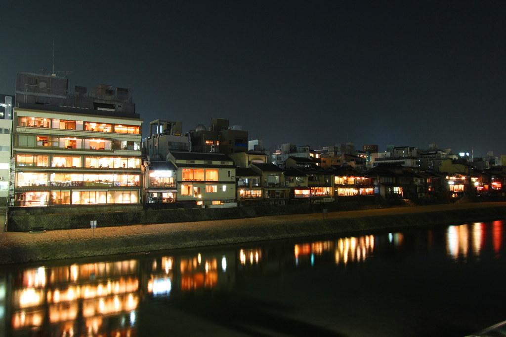 Kamogawa Night Photo (1)