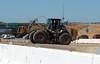Big Cat Forklift (Photo Nut 2011) Tags: california cat sandiego caterpillar freeway miramar roadwork forklift 15freeway expresslane