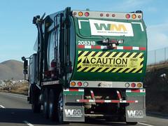 Trash Truck (Photo Nut 2011) Tags: california truck garbage junk wm freeway waste refuse sanitation garbagetruck wastemanagement trashtruck wastedisposal 208318
