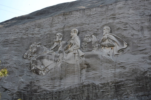 Monument on Stone Mountain