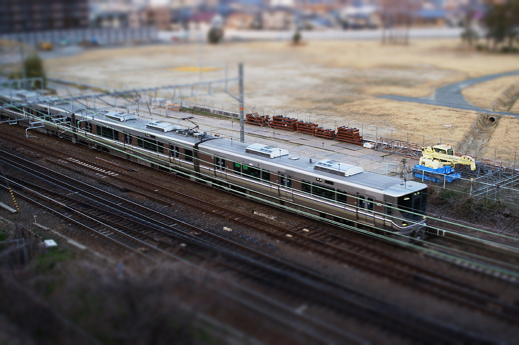 GXR new Miniaturize mode's test shot