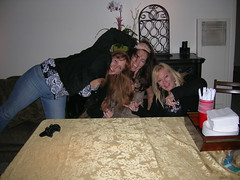 Tiffany, Gina, and Bonnie (FrogMiller) Tags: friends party food playing sexy home cooking fun funny drink martini gina eat bonnie martinis tiffany martiniparty
