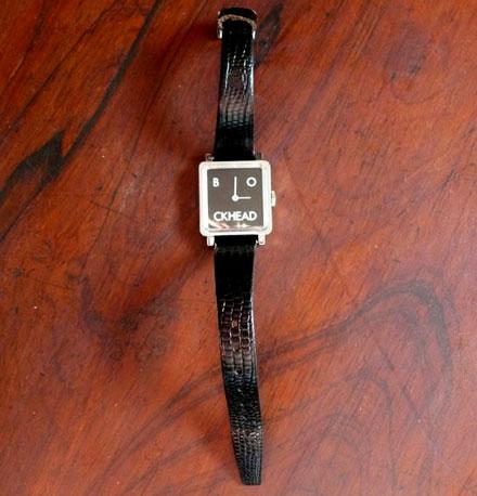 Blockhead watch