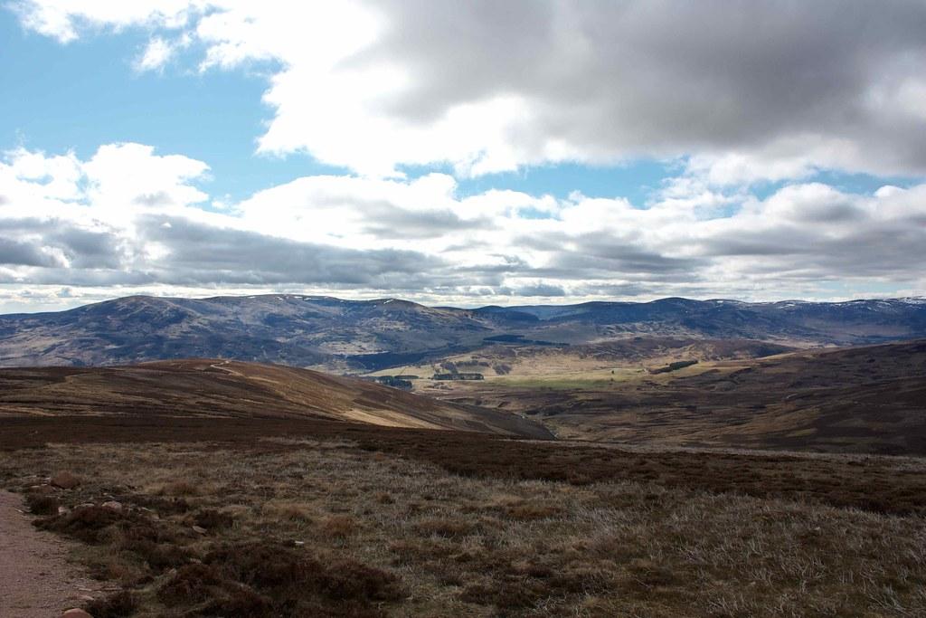 Glen Esk hills