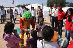 La vida en la frontera entre Libia y Túnez