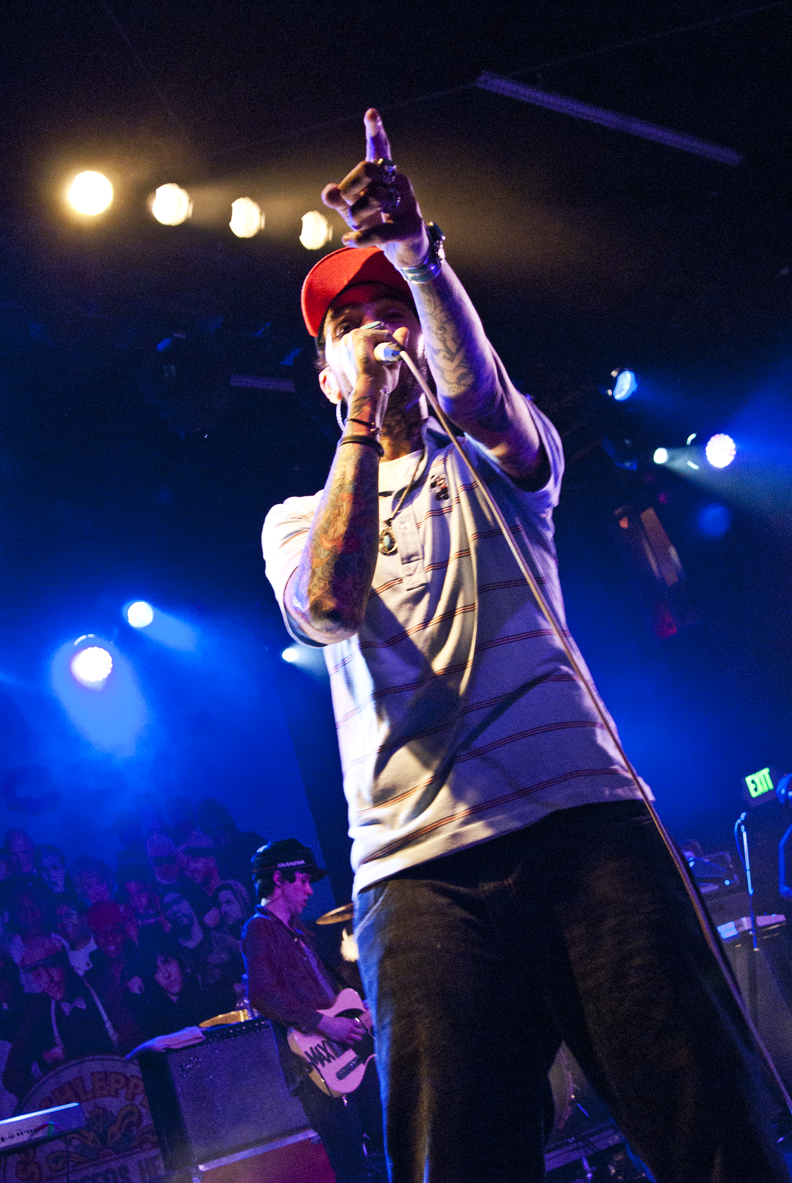 Travie McCoy at The El Rey