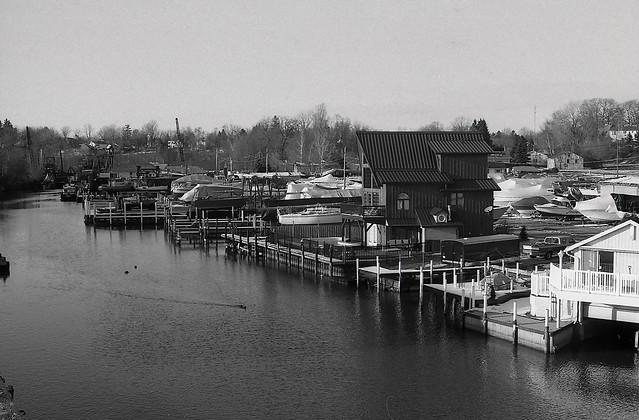 Modern Fishing Village