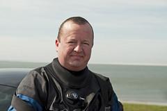 Buddy (Arne Kuilman) Tags: portrait spring noordzee diving buddy diver santi drysuit denhelder kijkduin duiker duiken apeks droogpak