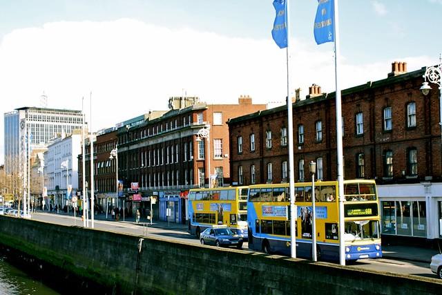 Дублин, двухэтажный автобус