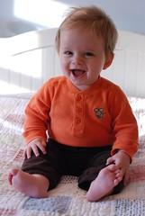 Everett (Eight Months) (Joe Shlabotnik) Tags: home everett faved 2011 april2011 justeverett