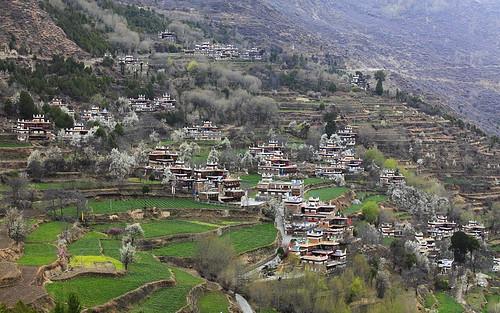 丹巴甲居藏居 (Danba Tibetan Village)