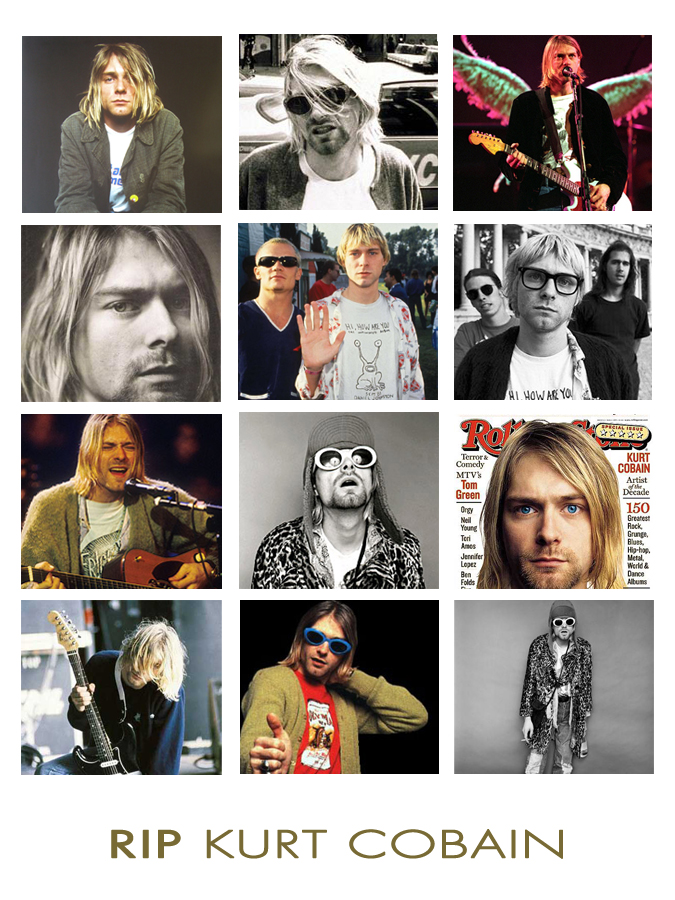 RIP Kurt Cobain, April 5 1994, Style Icon, Musician