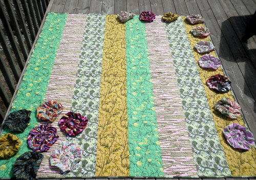 Blossom Quilt - WIP