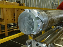 Ice core and drill head
