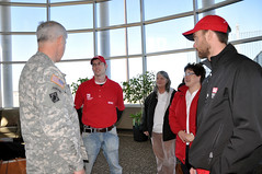 MG Walsh talks to USACE employees (USACE HQ) Tags: flooding northdakota redriver fargo oxbow usace moorhead usarmycorpsofengineers stpauldistrict northrivervalley emergencylevees