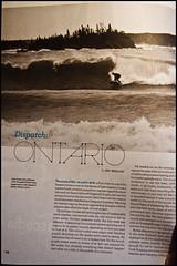 Published in SBC- Spring 2011 (the fresh aspect) Tags: ontario canada published surf sbc lakesuperior thunderbay freshwater
