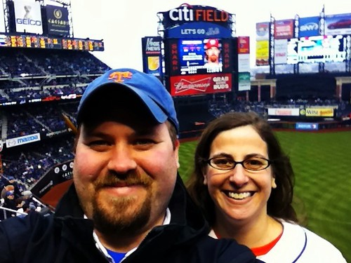 Self portrait of @nikbronder and I at Citi Field today
