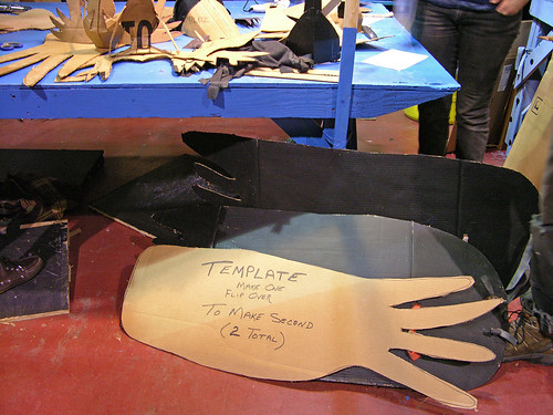 template of crow wing