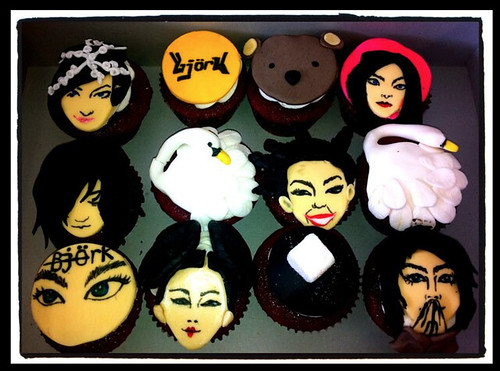 bjork cupcakes by Little Sweeties Cupcakes