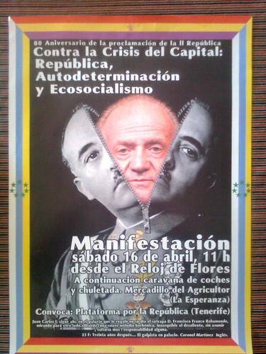 16 de Abril a las 11: Manifestación por la República, la Autodeterminación y el Ecosocialismo en Tenerife 5602903601_940e3d0925