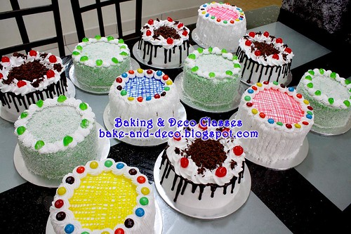 Batch 12 February 2011: Variety Cakes