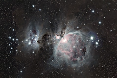 M42 Reprocessed (Mike Wiles) Tags: m42 Astrometrydotnet:status=solved Astrometrydotnet:version=14400 Astrometrydotnet:id=alpha20110495083022